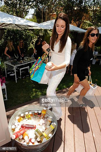 Madeline Stowe attends the annual Jen Klein Day of Indulgence Summer Party August 11 2013 in Los Angeles California