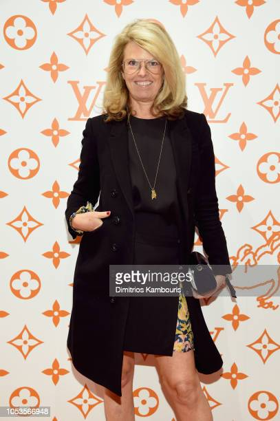 Madeline Weeks attends the Louis Vuitton X Grace Coddington Event on October 25 2018 in New York City