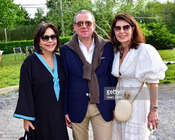 Madeline Weinrib Alex Papachristidis and Kim Seybert attend ARF Thrift Shop Designer Show House Sale at ARF Thrift Treasure Shop on May 26 2018 in...