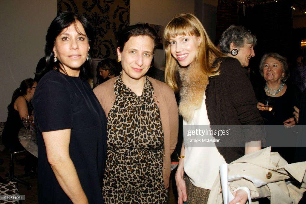 Madeline Weinrib, Leslie Camhi and Virginia Tupker attend DEBORAH