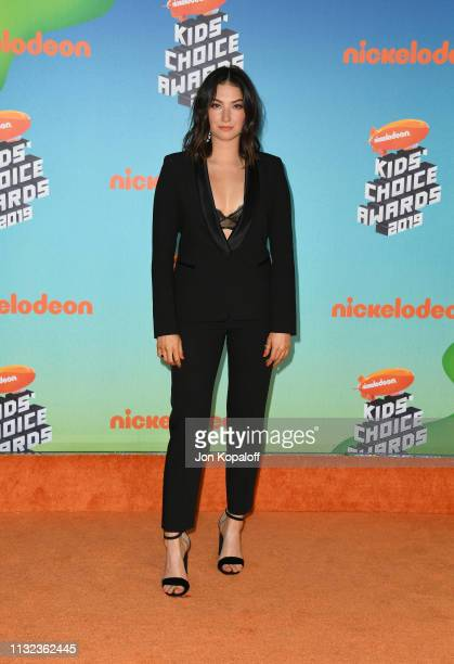 Madeline Whitby attends Nickelodeon's 2019 Kids' Choice Awards at Galen Center on March 23 2019 in Los Angeles California