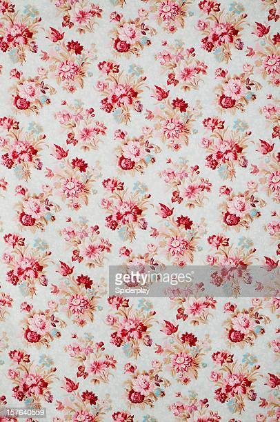 Madeline Wide Antique Floral Fabric