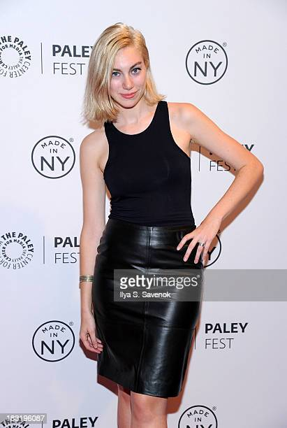 Madeline Wise attends the The Outs panel during 2013 PaleyFest Made In New York at The Paley Center for Media on October 5 2013 in New York City