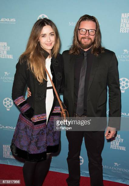 Madeline Zima and Ryan Snow attend the Festival Gala at CIA at Copia during ithe 7th Annual Napa Valley Film Festival on November 11 2017 in Napa...