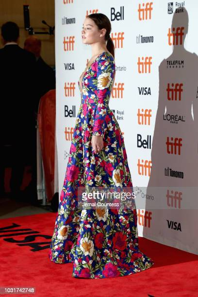 Madelyn Cline attends the Boy Erased premiere during 2018 Toronto International Film Festival at Princess of Wales Theatre on September 11 2018 in...