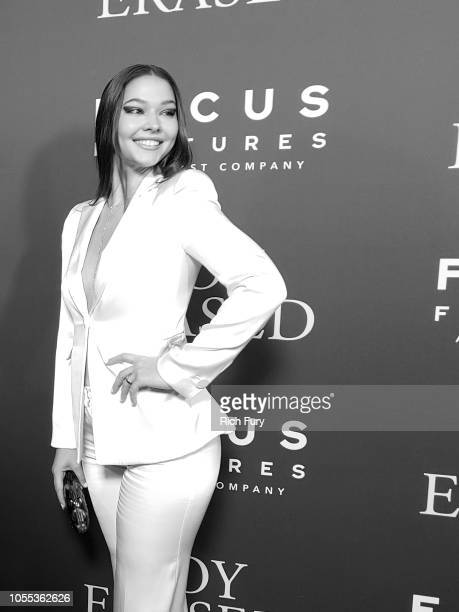 Madelyn Cline attends the premiere of Focus Features' 'Boy Erased' at Directors Guild Of America on October 29 2018 in Los Angeles California