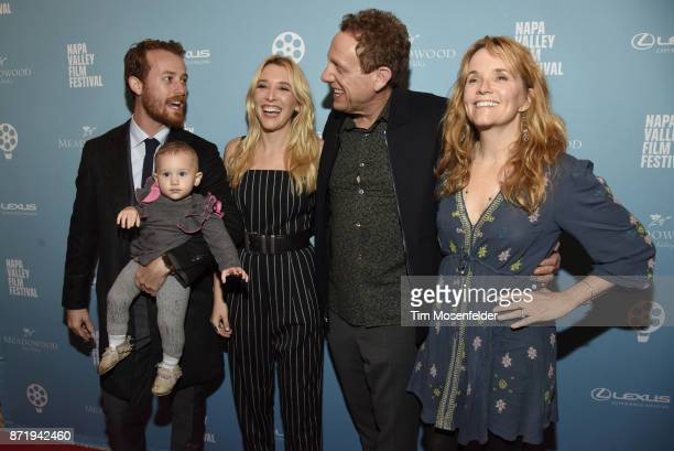 Madelyn Deutch and Lea Thompson and guests attend the screening of 'The Year of Spectacular Men' during the 7th Annual Napa Valley Film Festival at...