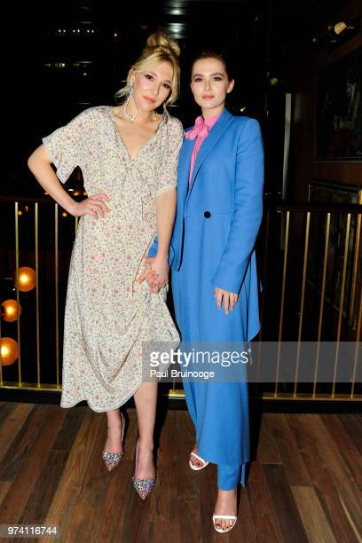 Madelyn Deutch and Zoey Deutch attend MarVista Entertainment And Parkside Pictures With The Cinema Society Host The After Party For 'The Year Of...