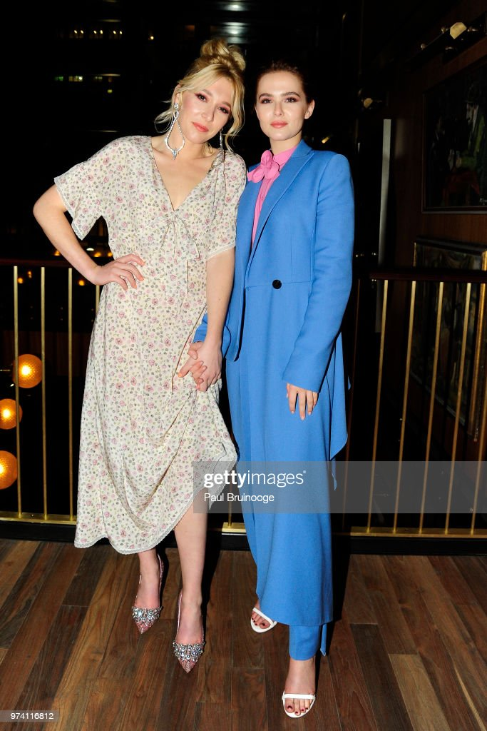 Madelyn Deutch and Zoey Deutch attend MarVista Entertainment And Parkside Pictures With The Cinema Society Host The After Party For 'The Year Of Spectacular Men' at Legacy Records on June 13, 2018 in New York City.