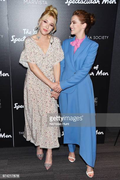 Madelyn Deutch and Zoey Deutch attend 'The Year Of Spectacular Men' New York Premiere at The Landmark at 57 West on June 13 2018 in New York City