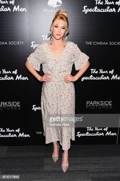 Madelyn Deutch attends 'The Year Of Spectacular Men' New York Premiere at The Landmark at 57 West on June 13 2018 in New York City