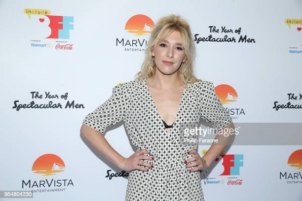 Madelyn Deutch attends The Year of Spectacular Men premiere at the 4th Annual Bentonville Film Festival Day 4 on May 4 2018 in Bentonville Arkansas