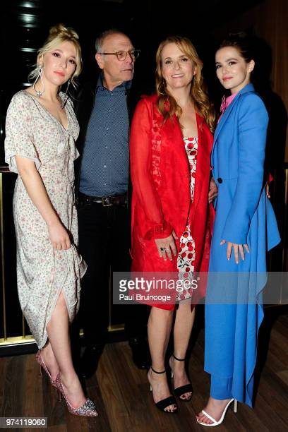 Madelyn Deutch Howard Deutch Lea Thompson and Zoey Deutch attend MarVista Entertainment And Parkside Pictures With The Cinema Society Host The After...