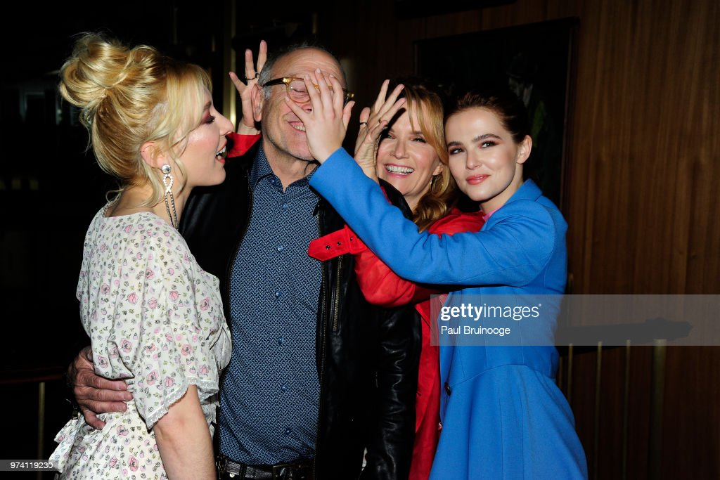 Madelyn Deutch, Howard Deutch, Lea Thompson and Zoey Deutch attend MarVista Entertainment And Parkside Pictures With The Cinema Society Host The After Party For 'The Year Of Spectacular Men' at Legacy Records on June 13, 2018 in New York City.