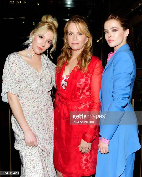 Madelyn Deutch Lea Thompson and Zoey Deutch attend MarVista Entertainment And Parkside Pictures With The Cinema Society Host The After Party For 'The...