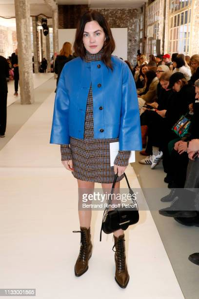 Madelynn Furlong attends the Nina Ricci show as part of the Paris Fashion Week Womenswear Fall/Winter 2019/2020 on March 01 2019 in Paris France