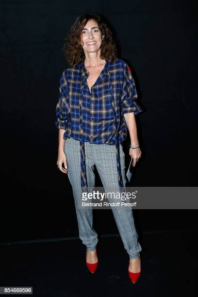 Mademoiselle Agnes Boulard attend the Lanvin show as part of the Paris Fashion Week Womenswear Spring/Summer 2018 on September 27 2017 in Paris France