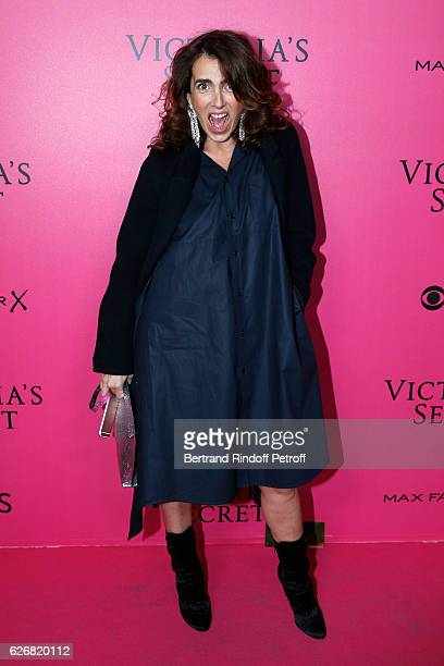 Mademoiselle Agnes Boulard attends the 2016 Victoria's Secret Fashion Show Held at Grand Palais on November 30 2016 in Paris France