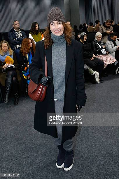 Mademoiselle Agnes Boulard attends the Balenciaga Menswear Fall/Winter 20172018 show as part of Paris Fashion Week on January 18 2017 in Paris France