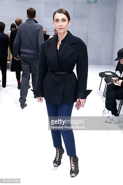 Mademoiselle Agnes Boulard attends the Balenciaga show as part of the Paris Fashion Week Womenswear Fall/Winter 2016/2017 on March 6 2016 in Paris...