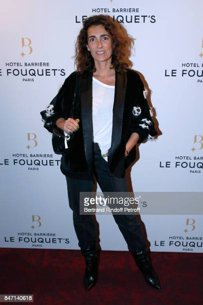 Mademoiselle Agnes Boulard attends the Reopening of the Hotel Barriere Le Fouquet's Paris decorated by Jacques Garcia at Hotel Barriere Le Fouquet's...