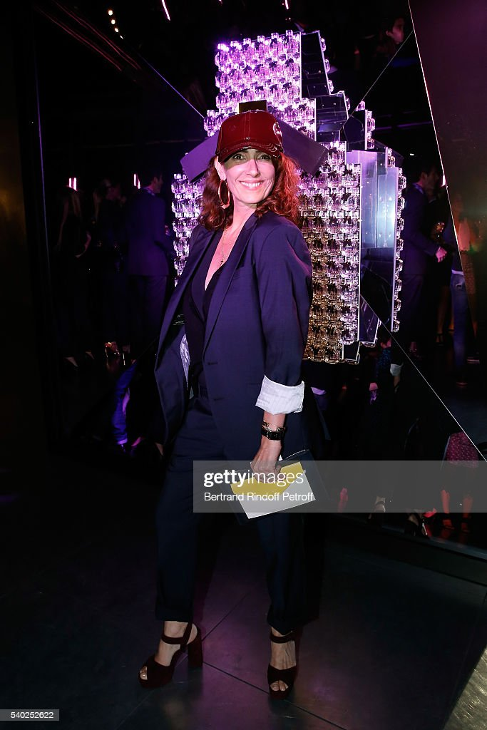 Mademoiselle Agnes Boulard attends YSL Beauty launches the new Fragrance 'Mon Paris' at Cafe Le Georges on June 14, 2016 in Paris, France.