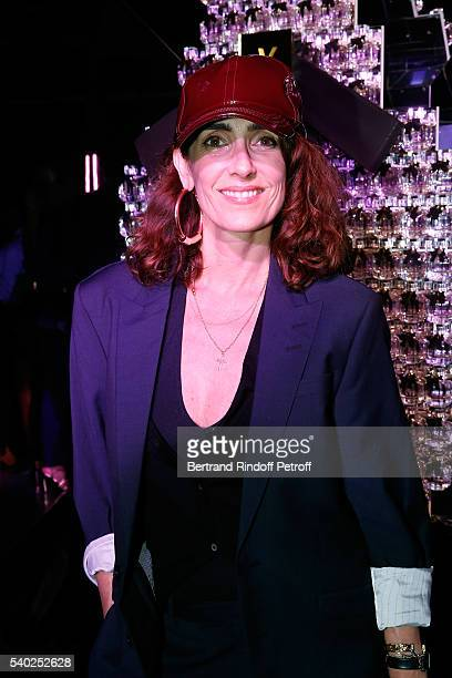 Mademoiselle Agnes Boulard attends YSL Beauty launches the new Fragrance 'Mon Paris' at Cafe Le Georges on June 14 2016 in Paris France