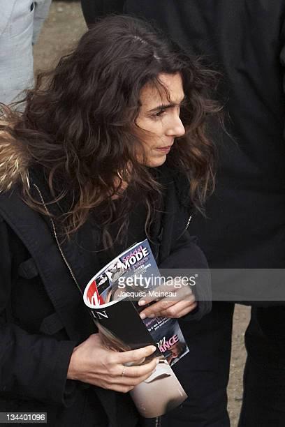 Mademoiselle Agnes during Paris Fashion Week Fall/Winter 2007 Christian Lacroix Arrivals at Espace Ephémère Tuileries in Paris France
