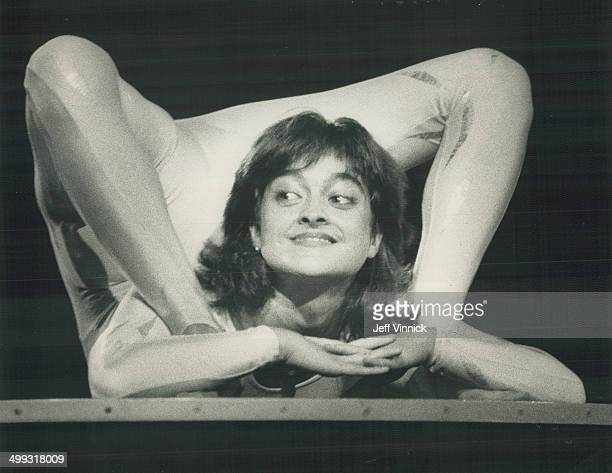 Mademoiselle Pretzel Angela Laurier's astounding feat of of contortion is typical of the unusual acts to be found under Cirque du Soleil's for the...