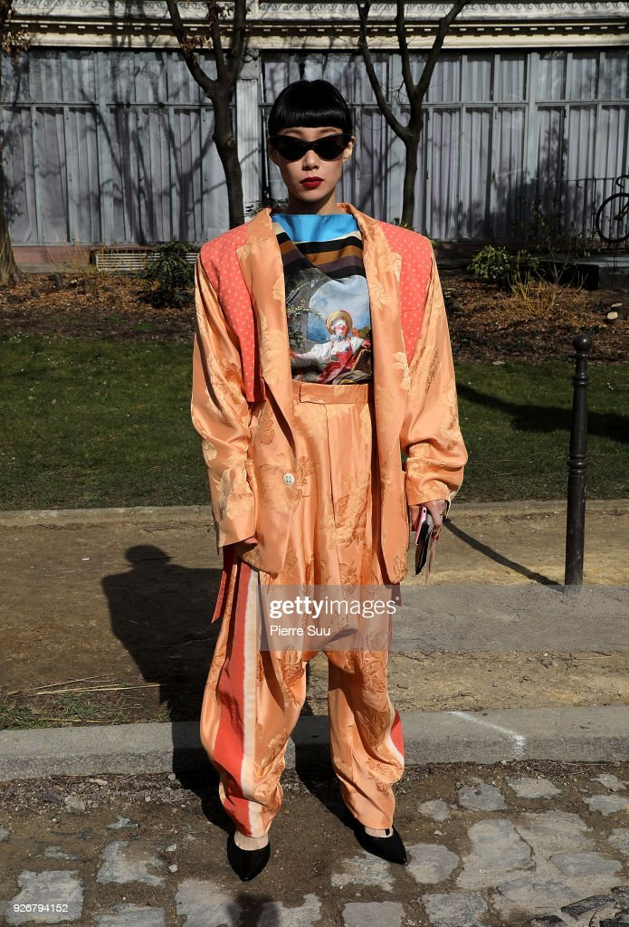 Vivienne Westwood : Outside Arrivals - Paris Fashion Week Womenswear Fall/Winter 2018/2019