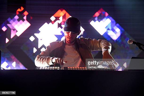 Madeon performs onstage during the 2016 Billboard Hot 100 Festival at Nikon at Jones Beach Theater on August 20 2016 in Wantagh New York