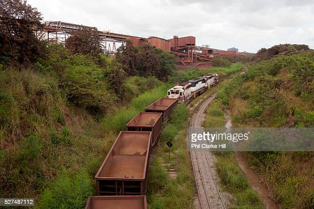 Madera Port Sao Luis Maranhao Brazil The Carajas Open Cast Iron Ore mine is the largest iron mine in the World estimates say the site can be mined at...