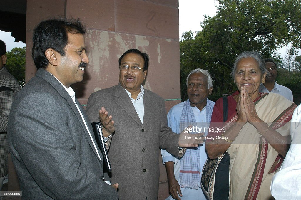Madhu Goud Yakshi Member Of Parliament From Nizamabad Andhra News Photo Getty Images