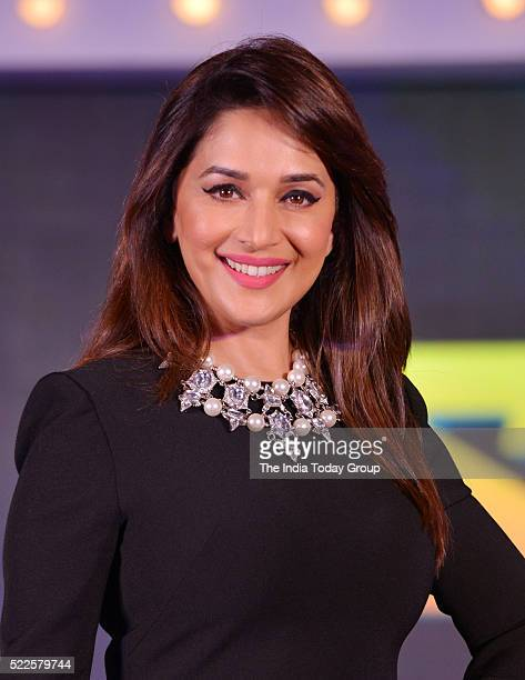 Madhuri Dixit during the announcement of TV dance show So You Think You Can Dance in Mumbai