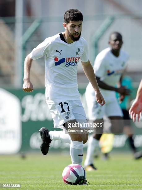 Madih Talal of Amiens SC during the Club Friendly match between Amiens SC v UNFP FC at the Centre Sportif Du Touquet on July 13 2018 in Le Touquet...