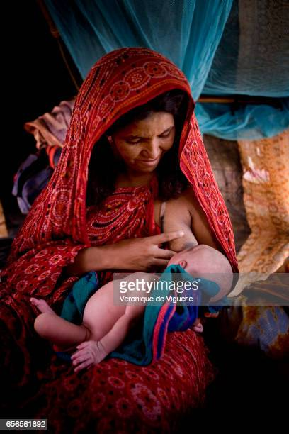 Madiha herself a retrained traditional midwife has just given birth to a baby girl called Khalimat with the help of another midwife