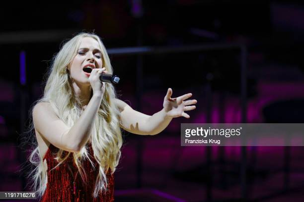 Madilyn Bailey during the Channel Aid Live in concert at Elbphilharmonie on January 4 2020 in Hamburg Germany