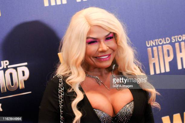 Madina Malina attends the Growing Up Hip Hop, New York and Untold Stories of Hip Hop event at the Paley Center in New York City.