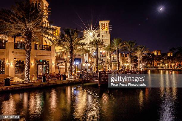 Madinat Jumeirah at the night