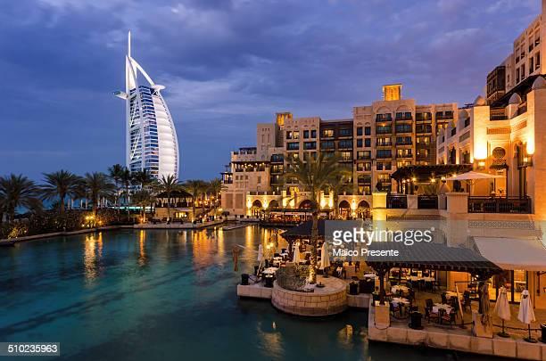 Madinat Jumeirah in Dubai with Burj al Arab View
