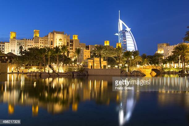 Madinat Jumeirah is a popular shopping centre incorporating some hotels. It calls itself an authentic recreation of ancient Arabia. The highlighted...