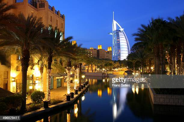 Madinat Jumeirah with Burj al Arab