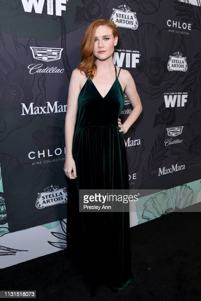 Madisen Beaty attends the 12th Annual Women in Film Oscar Nominees Party Presented by Max Mara with additional support from Chloe Wine Collection...