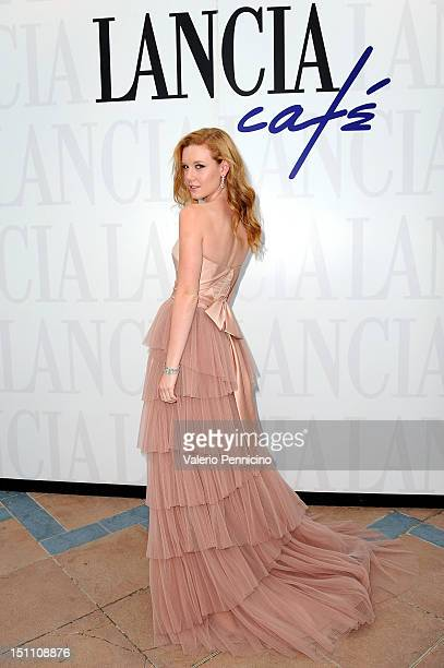 Madisen Beaty attends the Lancia Cafe during the 69th Venice Film Festival on September 1 2012 in Venice Italy