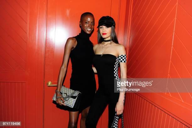 Madisin Rian and Gemmy Quelliz attend MarVista Entertainment And Parkside Pictures With The Cinema Society Host The After Party For 'The Year Of...