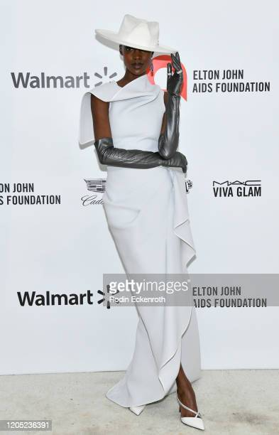 Madisin Rian attends the 28th Annual Elton John AIDS Foundation Academy Awards Viewing Party Sponsored By IMDb And Neuro Drinks on February 09, 2020...