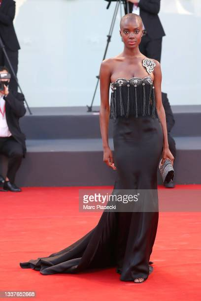 """Madisin Rian attends the red carpet of the movie """"Madres Paralelas"""" during the 78th Venice International Film Festival on September 01, 2021 in..."""
