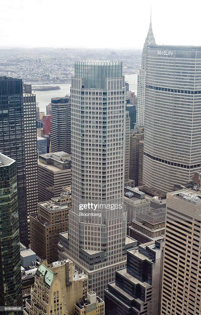 Madison Avenue The Headquarters Building Of Bear Stearns Center News Photo Getty Images