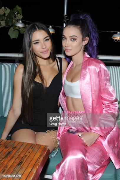 Madison Beer and Olivia O'Brien attend the Republic Records VMA AfterParty at Catch on August 20 2018 in New York City
