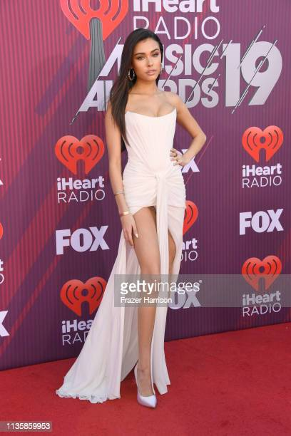 Madison Beer attends the 2019 iHeartRadio Music Awards which broadcasted live on FOX at Microsoft Theater on March 14 2019 in Los Angeles California